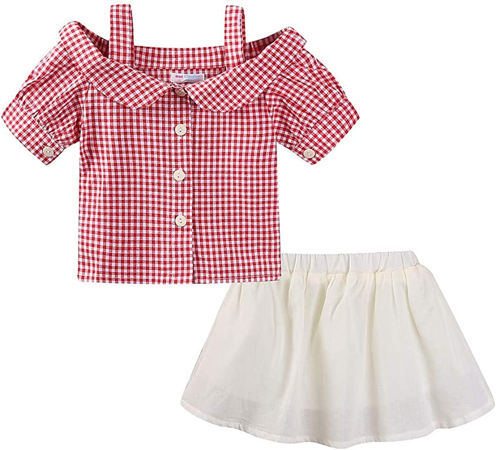 Mud New sales Kingdom Little Girls Outfits Cute Summer Cloth Holiday OFFicial Short