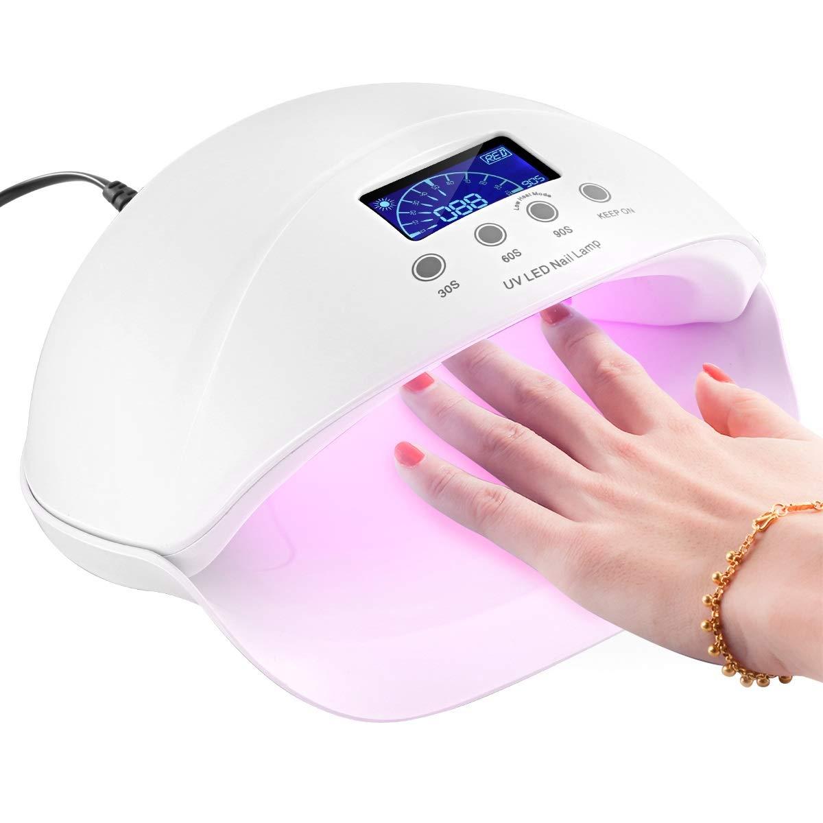 50W UV LED Nail Lamp for Fingernail