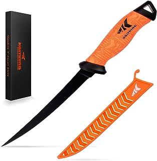 """KastKing Fillet Knife, Razor Sharp G4116 German Stainless-Steel Blade 5"""" - 9"""", Professional Level Knives for Filleting and..."""