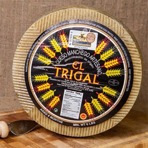 Artisan Raw-Milk Manchego 1 Year - Whole Wheel (7 pound)