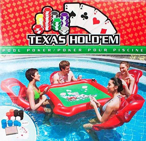 AlienTech aufblasbar Wasser Toys Poker Game Adult Swim Ring Reittiere aufblasbar Floating Bett Schwimmende Zeile Toys