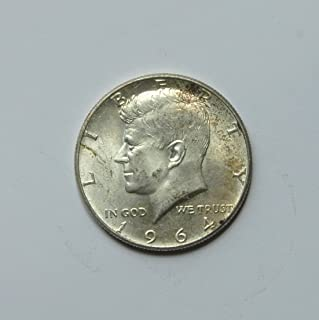 1964 United States of America Kennedy Half Dollar (Silver 90%) #5 Coin Very Good Details