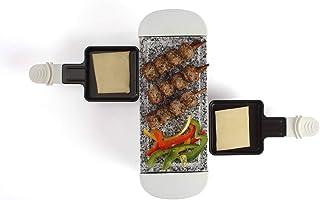 Livoo - Appareil à raclette 2 personnes DOC156W Blanc