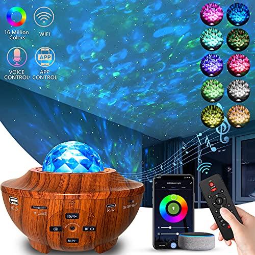 Star Projector 4 in 1 Smart WiFi Galaxy Projector