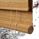 Persianas Enrollables De Bambú Persianas Romanas De Bambú Persianas De Privacidad Persianas De Madera - Persianas De Privacidad De Bambú 100% Natural para Ventanas Y Puertas Ventanas De Dormitorio