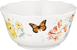Lenox Butterfly Meadow Melamine All Purpose Bowl, White