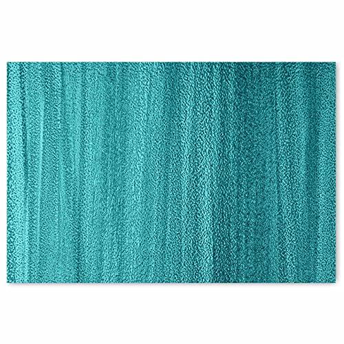 Darkyazi 23.6' x 35.4' Colorful Doormats Entrance Front Door Rug Funny Outdoors/Indoor/Bathroom/Kitchen/Bedroom/Entryway Floor Mats,Non-Slip Polyvinyl Chloride (Blue)