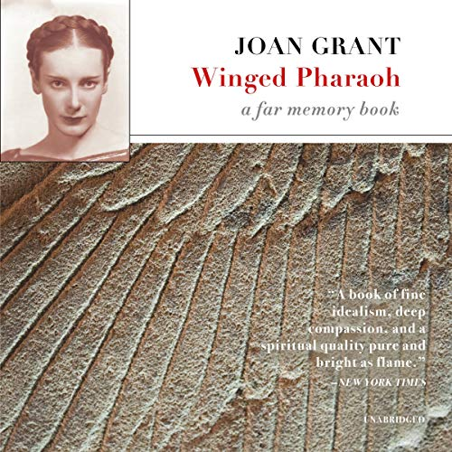 Winged Pharaoh audiobook cover art