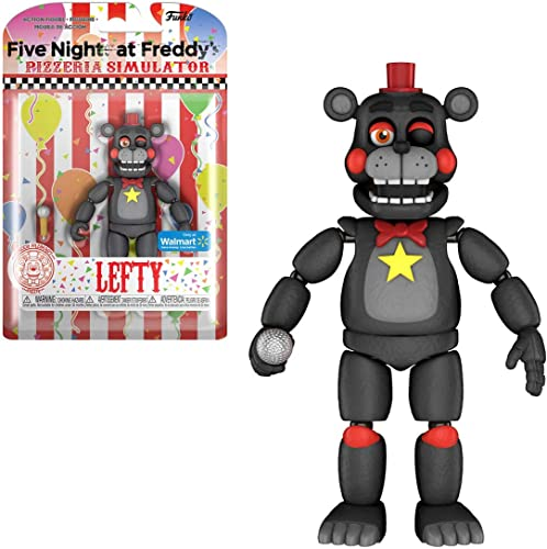 FIVE NIGHTS AT FrotDY'S Pizza Simulator - Lefty Collectible Figure