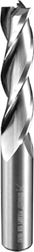 2021 Freud outlet sale 75-308 1/2-Inch x 2-Inch Triple Flute Up high quality Spiral Bit (1/2-Inch Shank) online sale