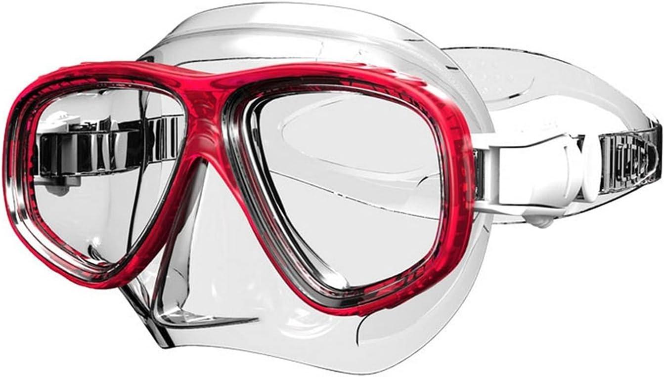 XUEXIU Equipo De Buceo Mascarilla De Buceo Adulto Scuba Gafas De Natación Cara Completa Fundición Nadada Unisex (Color : B)