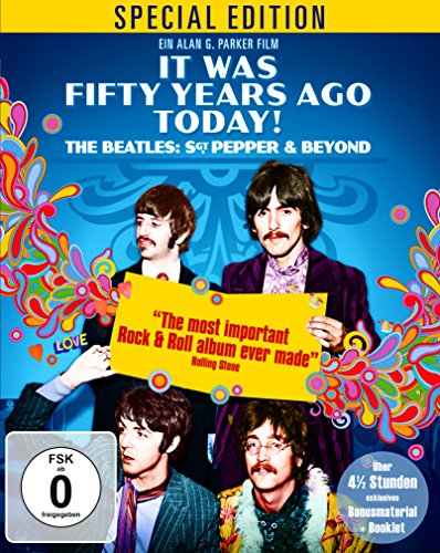 It Was Fifty Years Ago Today! The Beatles: Sgt. Pepper & Beyond - Special Edition [Blu-ray] [Alemania]