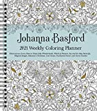Johanna Basford Weekly Coloring Planner 2021 Calendar