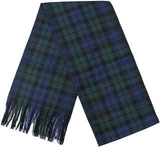 Ingles Buchan Womens 100% Wool Tartan Plaid Sash 10.5