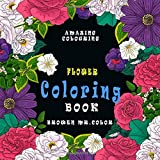 FLOWER Coloring BOOK: big flower coloring book for kids and adults ,(mandala coloring book)relaxation coloring books