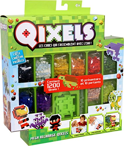Kanaï Kids – KK87071 Qixels Mega Refill Pack – 1200 Block Season 2 – Multicolour