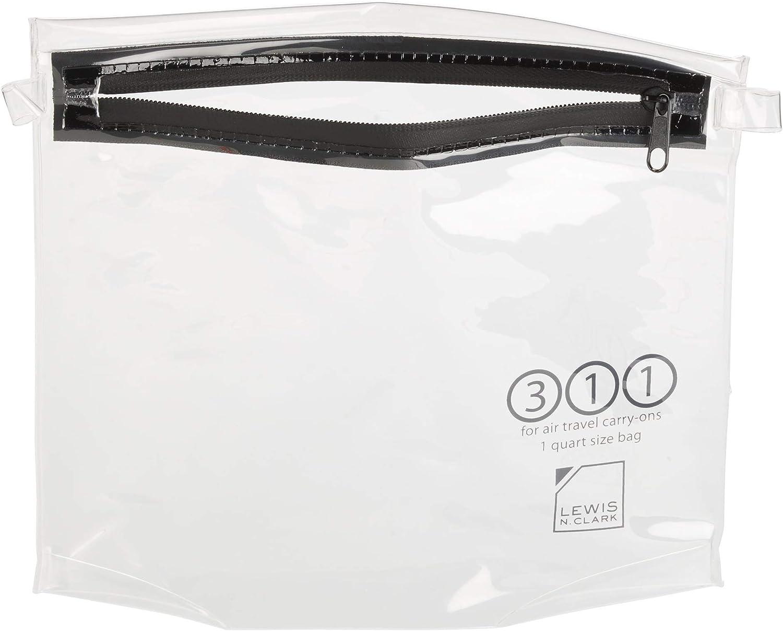 Lewis N. Clark TSA Approved Bag: + Fresno NEW before selling ☆ Mall Toiletry Women's Menâ€