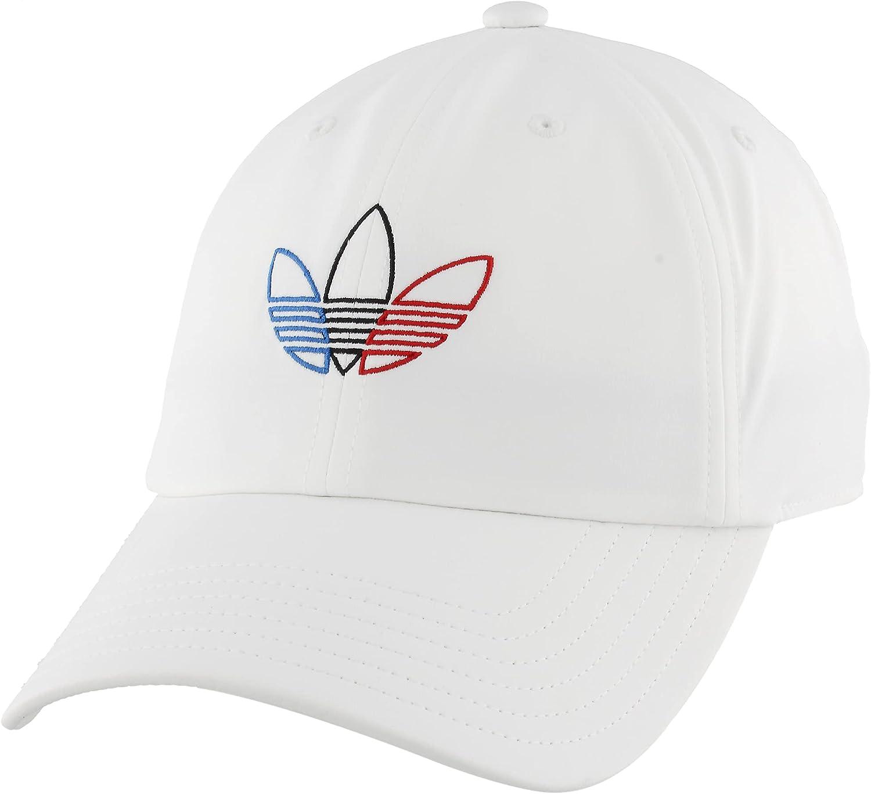 adidas Originals Women's Tri Color Relaxed Fit Strapback Cap