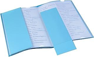 Veloflex 2215600 Beschriftungsfenster selbstklebend A5 Querformat Hohe Klebkraft temperaturbest/ändig 50 St/ück