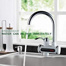 CHENF kitchentap Kitchen Faucet Without Instant Tank Electric Water Heater Instant Hot Water Faucet Cold Water Heater Faucet Water Heater