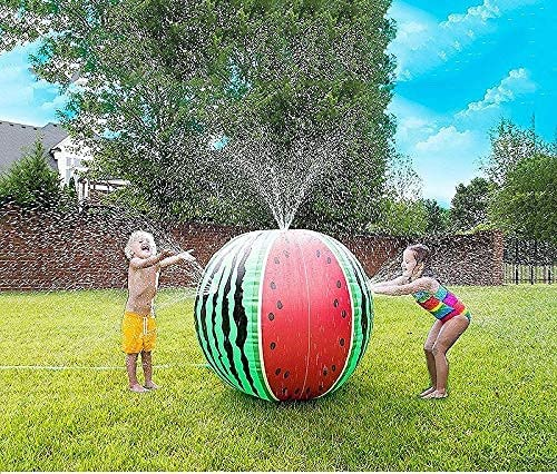 Max 49% OFF Vercico Inflatable Watermelon Sprinkler Melon Ball Todd Toys 25% OFF for