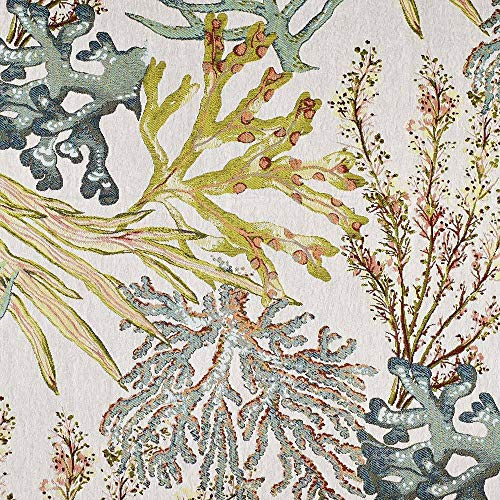 eLuxurySupply Fabric by The Yard - Polyester Blend Upholstery Sewing Fabrics - Coral Reef Pattern