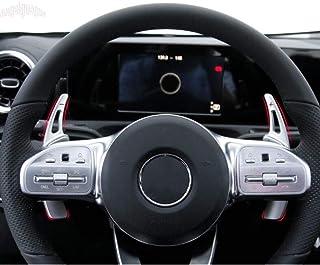 YINSHURE Housse de Volant de Voiture en Cuir/// pour Mercedes Benz Classe E E300 2014 Classe GL GL 350400500550 2013-2015 Classe M ML