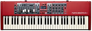 Nord Electro 6D 61 Stage Piano, 61-Note Semi-Weighted Waterf