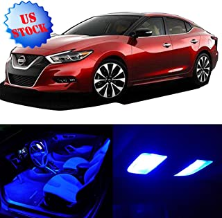 SCITOO LED Interior Lights 12pcs Blue Package Kit Accessories Replacement for 2007-2015 Nissan Altima Sedan