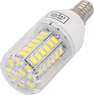 Aexit AC (Lighting fixtures and controls) 220V E14 5W Pure White 58 LEDs 5736 SMD Energy Saving Silicone Corn (94ry360qf36...