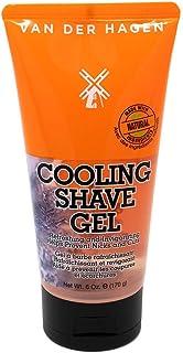 Van Der Hagen ژل آرایش خنک کننده برای مردان - Aloe Vera Non-Foaming برای سطح اسفنجی و صاف، و پایان نزدیک