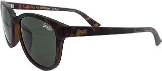 نظارة شمسية ليزي للنساء من سوبر دراي - تورتويس غير لامع/عدسات خضراء - موديل SDLIZZIE-122 - بابعاد 55-17-145 ملم