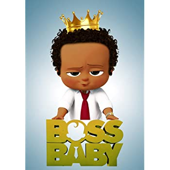 Amazon Com Customized Photography Backdrop Birthday 5x7ft Gold Crown Red Tie Boss Baby Themes Background For Kids Vinyl Photo Background For Baby Shower Dessert Tabletop Decoration Camera Photo