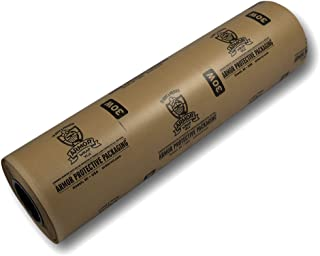 Armor Protective Packaging A30W36200 VCI Paper Wax Coated Prevents Rust, Corrosion On Ferrous and Non-Ferrous Metal, 36