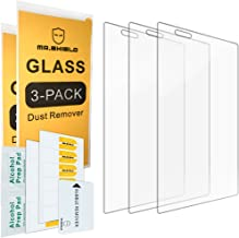 Mr.Shield [3-Pack] for LG K8V / K8 V (Only Fit for Verizon) [Tempered Glass] Screen Protector with Lifetime Replacement