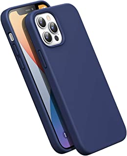 UGREEN Silicone Phone Case Compatible For iphone 12 Pro Max Soft Silicone Design To Protect The Phone In All Directions Navy