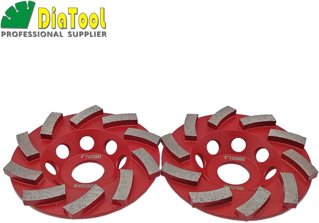 Abrasive Wheels & Discs Grinding Discs DIATOOL 2pcs 4/105mm Welded ...