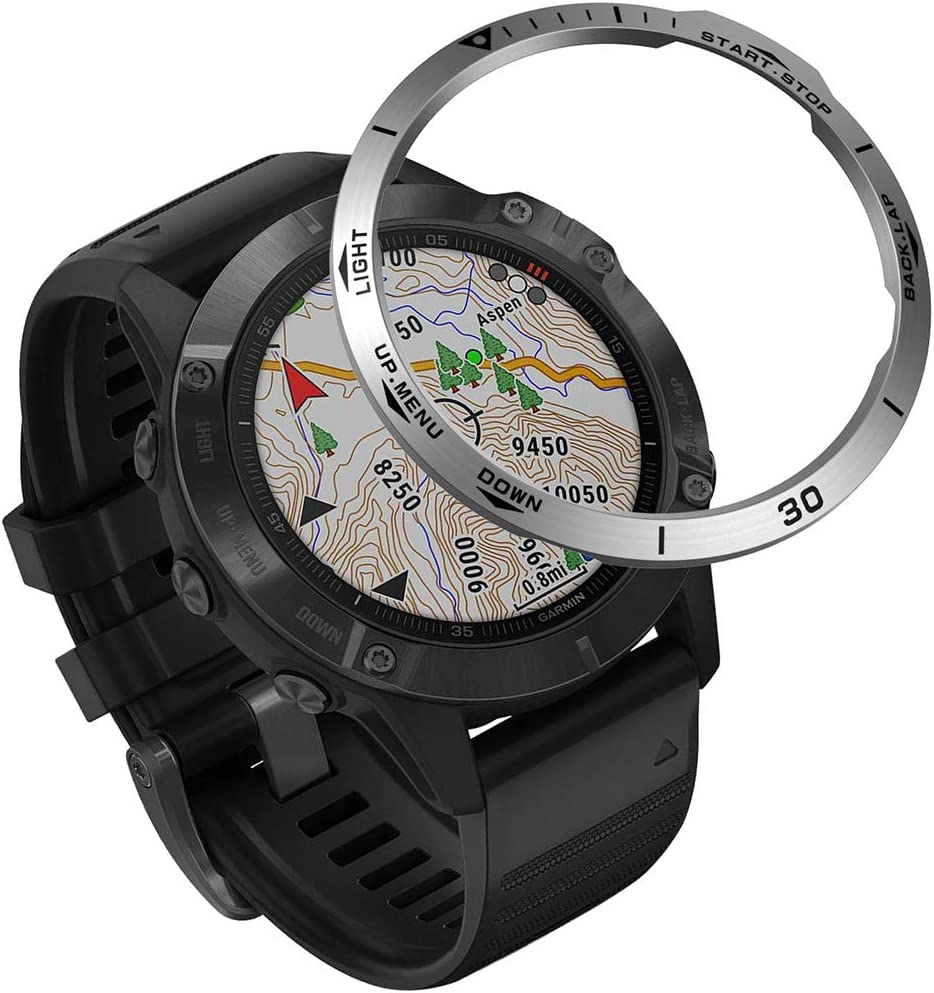 Stainless Steel Bezel Max 64% OFF Ring Compatiable with Fenix 6X Max 85% OFF P