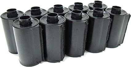 Ultrafine Reloadable 35mm Plastic Film Cassette for Bulk Loading, Pack of 10
