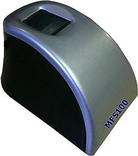 V3J MFS100 Finger Print Scanner for Security System/Biomatrix loc System and Other Security System (Multicolour)