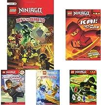 (进口原版) 乐高读物 Lego Ninjago 系列 Day of the Departed, Ninja of Fire, Collector's Sticker Book, Return of the Djinn, Legend of the Brown Ninja (5册套装)