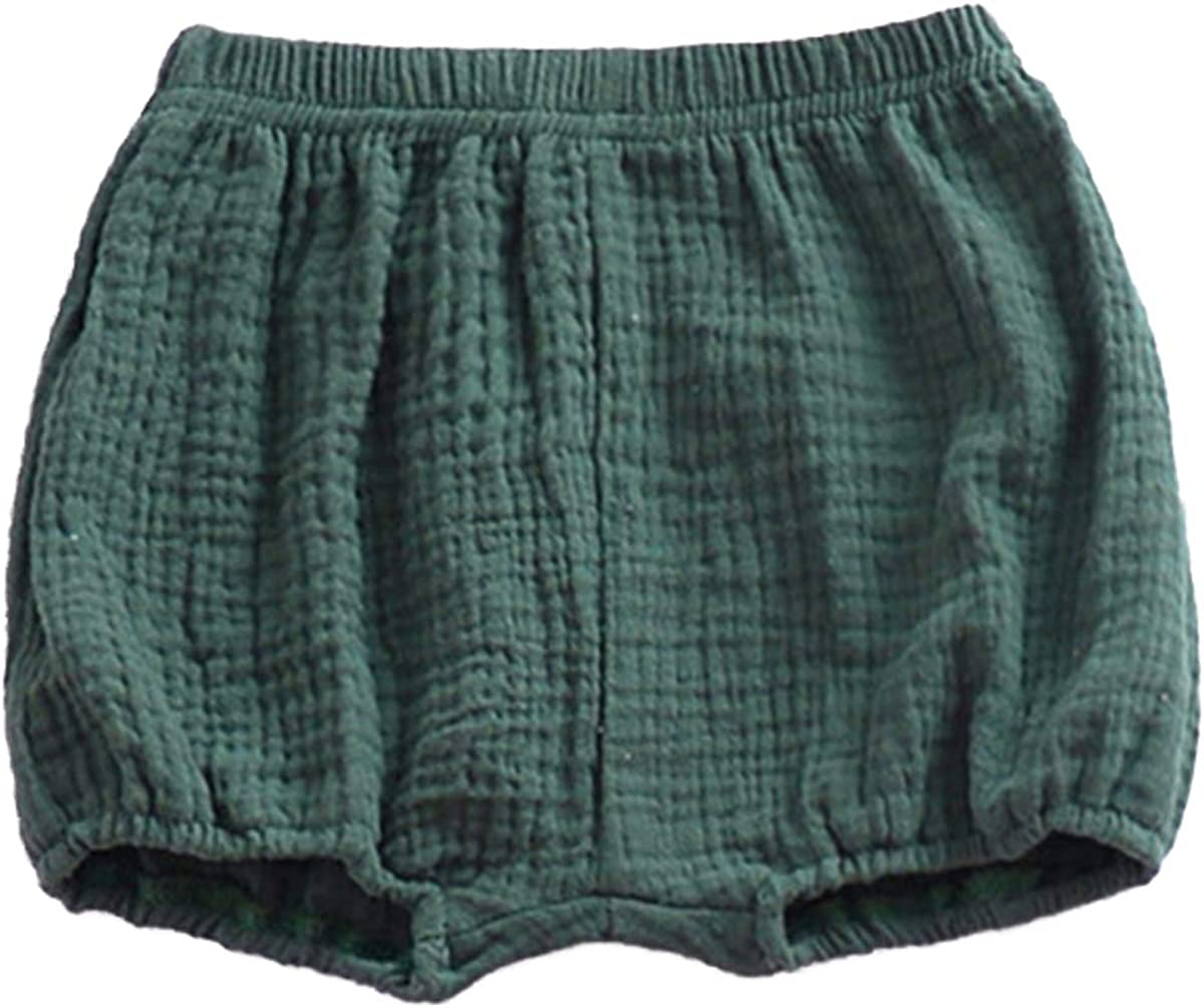 Baby Girls Super popular specialty store Boys Bloomer Shorts Cotton Cute Linen Max 41% OFF Loose Har Blend