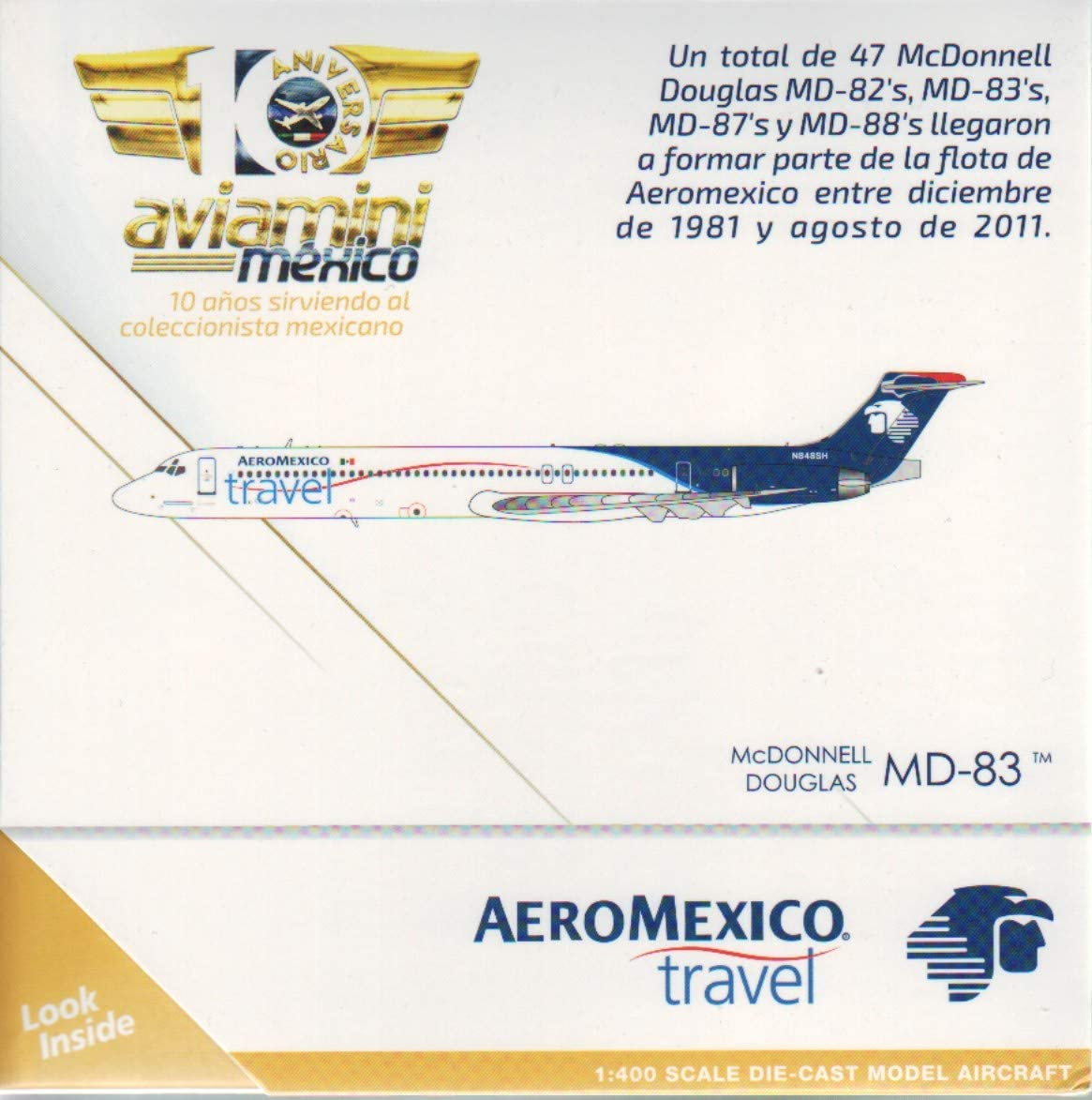 GeminiJets GEMGJ1434 1:400 AeroMexico SALE Douglas 大特価!! M Mcdonnell Travel