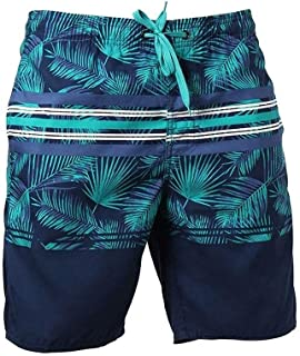 ملابس سباحة رياضية للرجال ملابس سباحة جيدة ملابس داخلية للرجال سراويل قصيرة لركوب الأمواج (اللون: أزرق أخضر، المقاس: XXL) ...