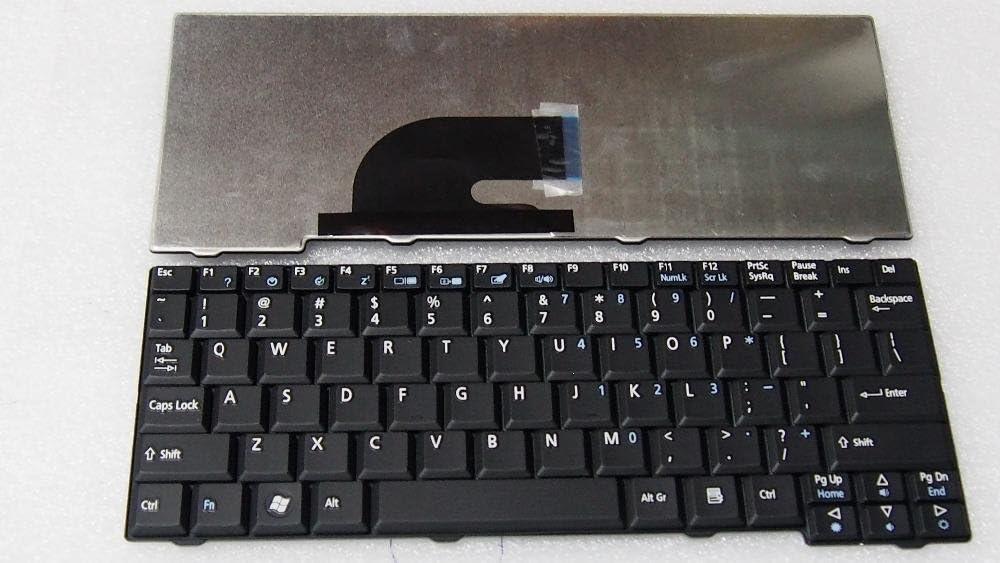 Replacement Keyboard For Acer Aspire One ZG5 ZG6 ZA8 ZG8 KAV10 KAV60 531 AO531 531H P531, US Layout Black Color
