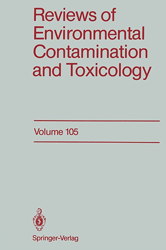 十有益利得Reviews of Environmental Contamination and Toxicology: Continuation of Residue Reviews (English Edition)