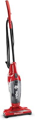 Dirt Devil Vibe 3-in-1 Vacuum Cleaner, Lightweight Corded Bagless Stick Vac with Handheld, SD20020, Red