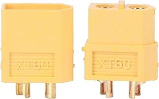 1711/5000 翻译结果 20st T60-connector, ABS XT60-stekker met hogetemperatuur-hogestroomaansluiting, RC-accessoire voor RC Lipo-...