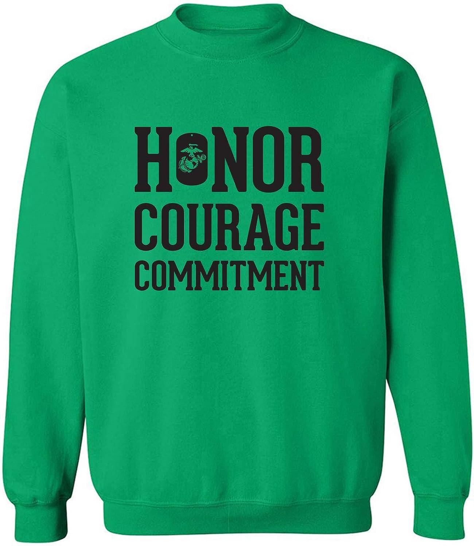 Honor Courage Commitment Crewneck Sweatshirt