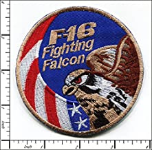 10 Pcs Embroidered Iron on patches Air Force F-16 Fighting Falcon AP027fB